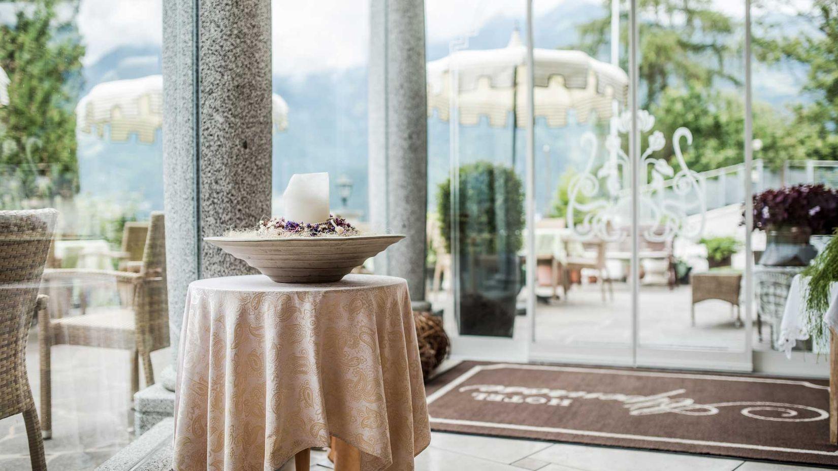 Hotel Schenna 3 Sterne Hotel Alpenrose Bei Meran