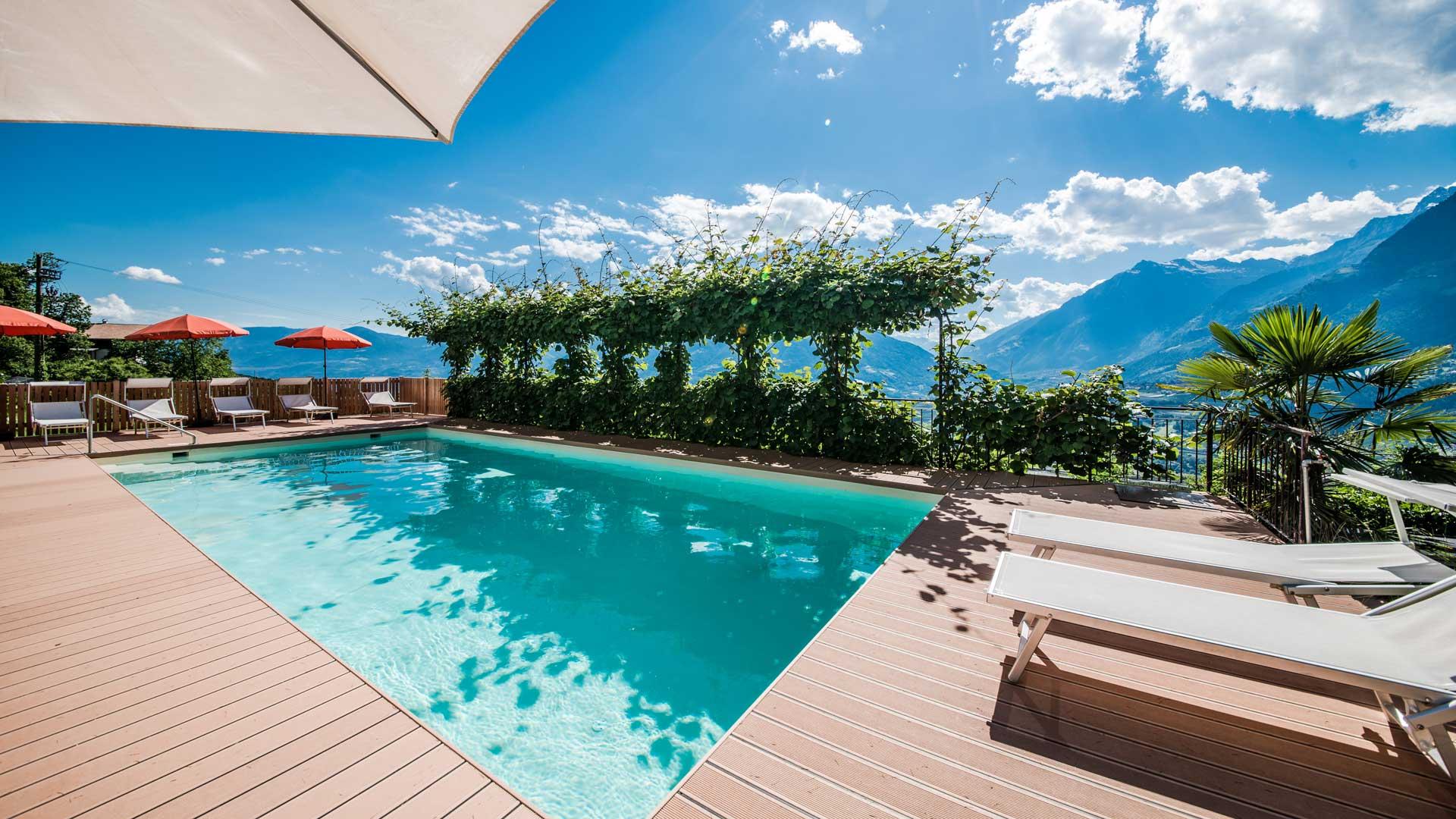 Hotel Tenne Schenna Bozen Italien